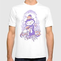 Tea Monkey Tea Party Mens Fitted Tee White SMALL