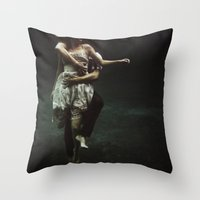 abyss of the disheartened : V Throw Pillow