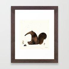 Ants Again (Anteater) Framed Art Print