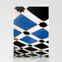 Geometric Love II Stationery Cards