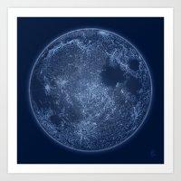 Dark Side Of The Moon - … Art Print