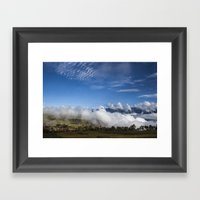 Its Below Framed Art Print