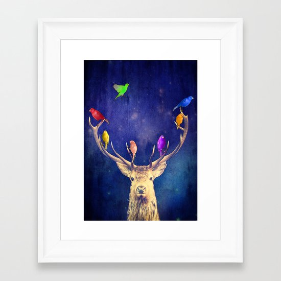 Colour Theory Framed Art Print
