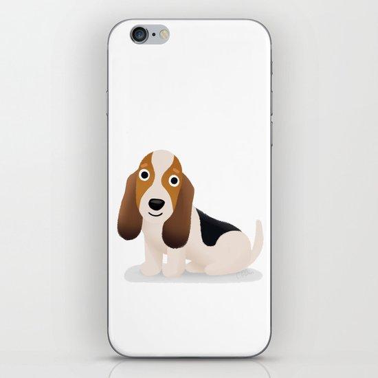 Basset Hound - Cute Dog Series iPhone & iPod Skin