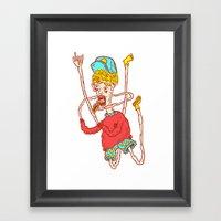 SWAG LIFE Framed Art Print