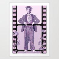 Buster Movie Hero Art Print