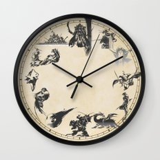 FINAL FANTASY CLOCK Wall Clock