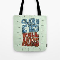 Clear Eyes, Full Hearts.… Tote Bag
