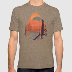 Autumn in the Gorge... - Arrowhead Mens Fitted Tee Tri-Coffee SMALL
