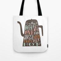 COFFE & LOVE Tote Bag