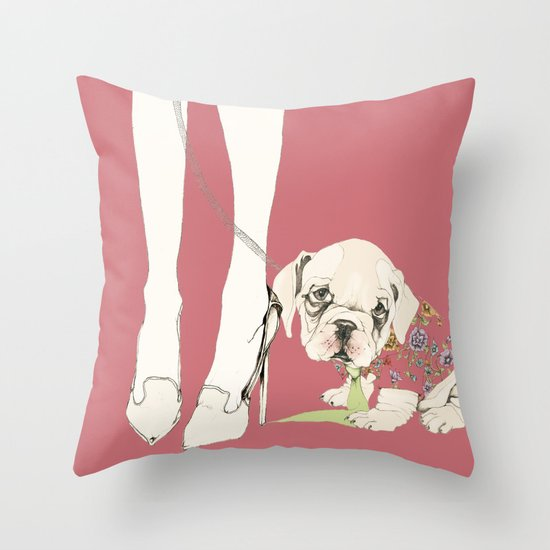he would never do it, 2 Throw Pillow