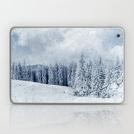 Pretty Winter Scenery La… Laptop & iPad Skin