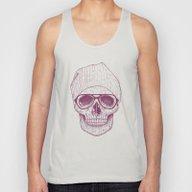 Cool Skull Unisex Tank Top