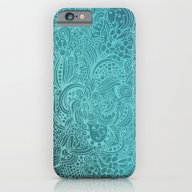 Detailed Zentangle Squar… iPhone 6 Slim Case
