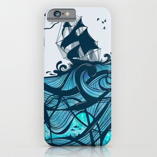 Upon The Sea iPhone & iPod Case
