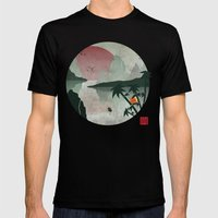 Two Of Seven Mens Fitted Tee Black SMALL