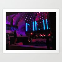 Miami South Beach Nightclub  Art Print