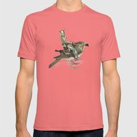 Knights Ride Mens Fitted Tee Pomegranate SMALL
