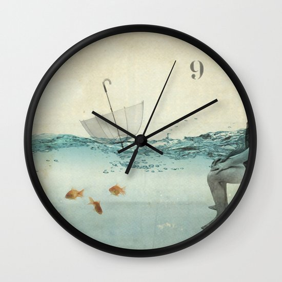never one when you need one Wall Clock