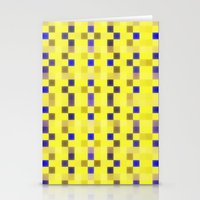 """pixel Stationery Cards featuring """"Pixel"""" by Mr and Mrs Quirynen"""