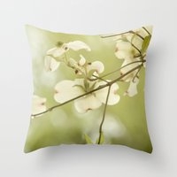 Stirring Up The Bees Throw Pillow