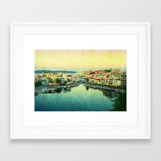 Agios Nikolaos Framed Art Print