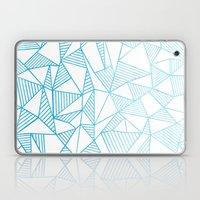 Abstraction Lines Waterc… Laptop & iPad Skin