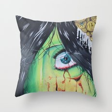 The accident  Throw Pillow