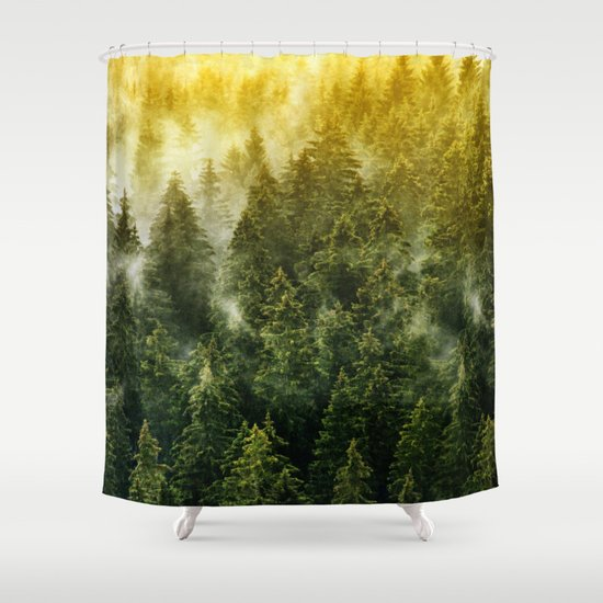 Don't Wake Me Up Shower Curtain