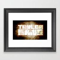 Taylor Gang Framed Art Print