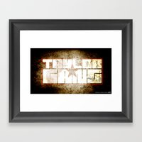 Taylor Gang Framed Art Print