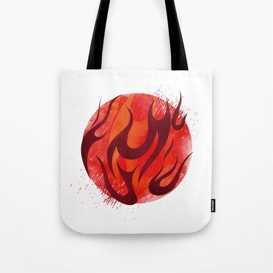 Fireball Tote Bag