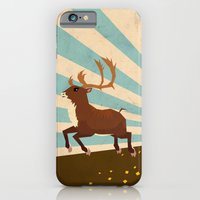 iPhone & iPod Case featuring Deer II by Yetiland