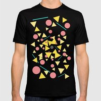 Chaos Around You Mens Fitted Tee Black SMALL