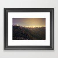Sequoia National Park Framed Art Print