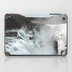Gullfoss - Landscape Photography iPad Case
