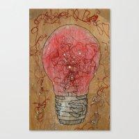 Redlightgo! Canvas Print