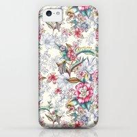iPhone 5c Cases featuring Bird of Paradise by Gemma Hodgson Design