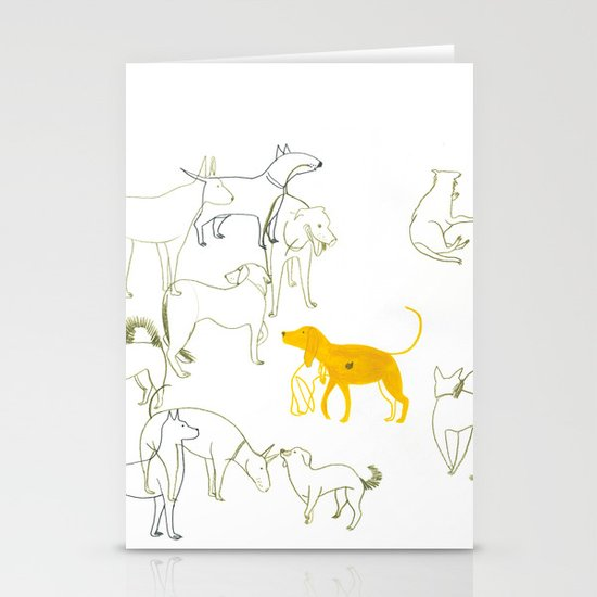 DOGS Stationery Card