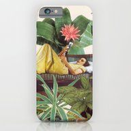 iPhone & iPod Case featuring TERRARIUM by Beth Hoeckel Collage…