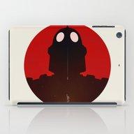 Iron Red iPad Case