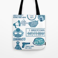 The Office - quotes and quips and stuffs Tote Bag
