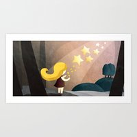 The Star Money  Art Print