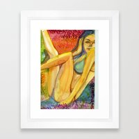 Beauty 2 Framed Art Print