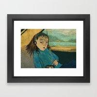 Mid 80's Framed Art Print