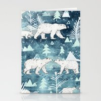 Ice Bears Stationery Cards