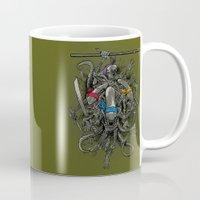 Ancient Ninja Xenomorphs Mug