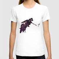 Escapar Womens Fitted Tee White SMALL