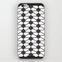 Cat box pattern iPhone & iPod Skin