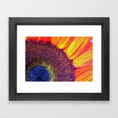 Center of attention Framed Art Print